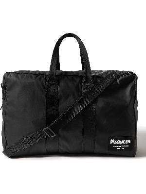 Alexander McQueen - Logo-Appliquéd Nylon Duffle Bag