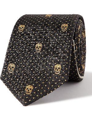 Alexander McQueen - 5cm Silk-Jacquard Tie
