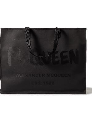 Alexander McQueen - Logo-Print Canvas Tote Bag