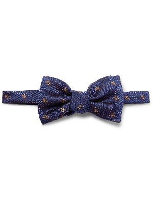 Alexander McQueen - Pre-Tied Silk-Jacquard Bow Tie