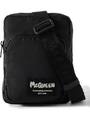 Alexander McQueen - Logo-Appliquéd Shell Camera Bag
