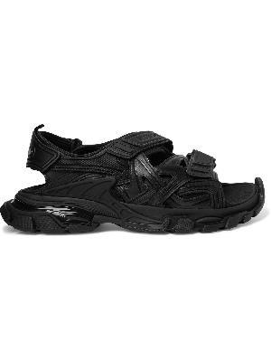 Balenciaga - Track Neoprene and Rubber Sandals