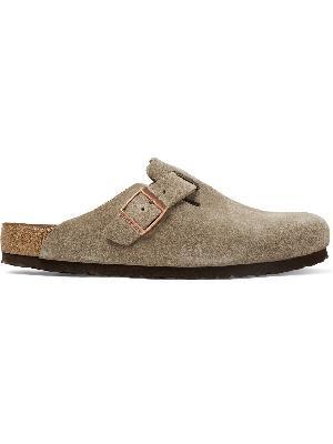 Birkenstock - Boston Suede Sandals