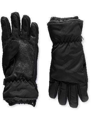 Bottega Veneta - Nylon and Leather Gloves