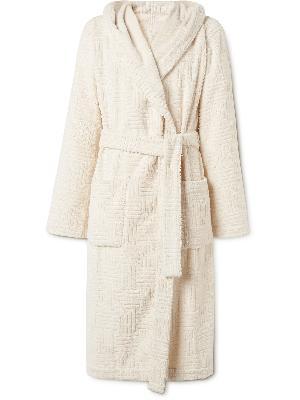 Bottega Veneta - Cotton-Terry Hooded Robe