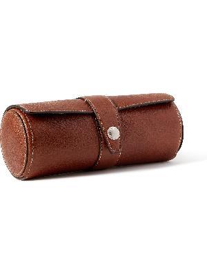 Brunello Cucinelli - Full-Grain Leather Watch Roll