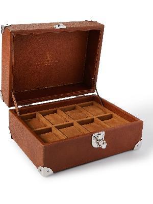 Brunello Cucinelli - Logo-Print Full-Grain Leather Watch Box
