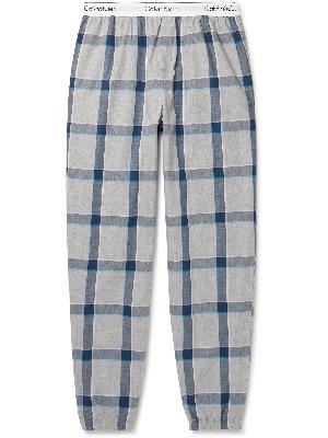 Calvin Klein Underwear - Checked Cotton Pyjama Trousers