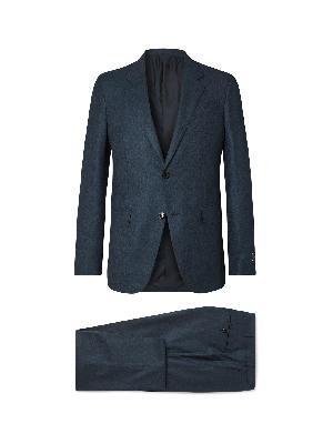 ERMENEGILDO ZEGNA - Navy Slim-Fit Cashmere and Silk-Blend Suit