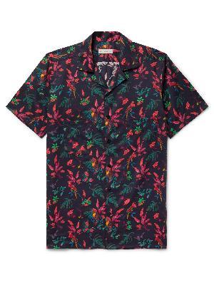 ETRO - Camp-Collar Printed Cotton Shirt