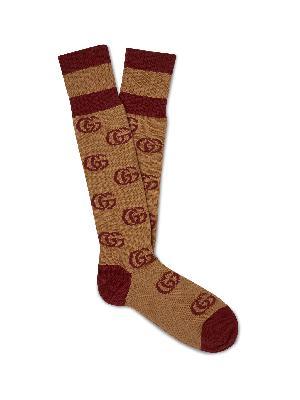 Gucci - Logo-Jacquard Cotton-Blend Socks