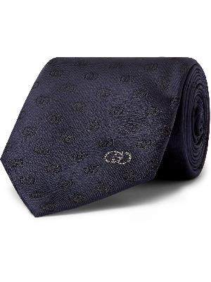 Gucci - 7cm Logo-Jacquard Silk-Blend Tie