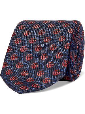Gucci - 7cm Logo-Jacquard Silk-Twill Tie