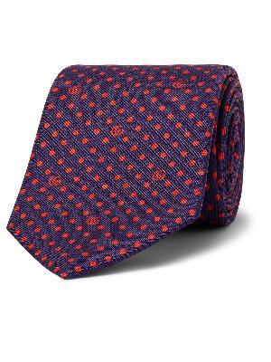 Gucci - 7cm Logo-Print Silk-Twill Tie