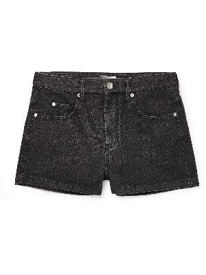 ISABEL MARANT - Jacken Washed-Denim Shorts