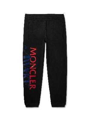 Moncler Genius - Awake NY 2 Moncler 1952 Tapered Logo-Detailed Loopback Cotton-Jersey Sweatpants