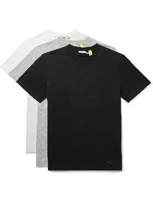 Moncler Genius - 6 Moncler 1017 ALYX 9SM Three-Pack Logo-Print Cotton-Jersey T-Shirts