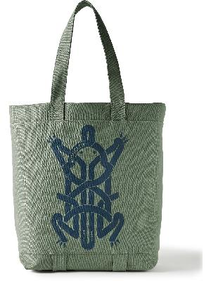 Moncler Genius - 5 Moncler Craig Green Printed Cotton-Canvas Tote Bag