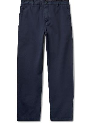Moncler Genius - 5 Moncler Craig Green Garment-Dyed Stretch-Cotton Twill Chinos