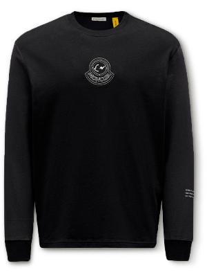 Moncler Genius - Fragment 7 Printed Cotton-Jersey T-Shirt
