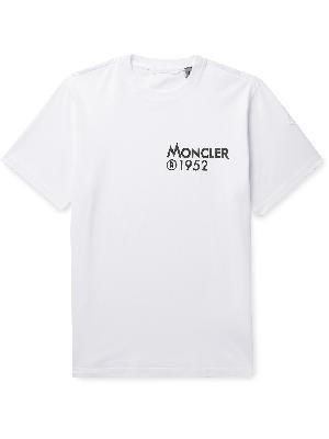 Moncler Genius - 2 Moncler 1952 Logo-Print Cotton-Jersey T-Shirt