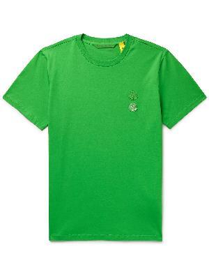 Moncler Genius - 2 Moncler 1952 Logo-Appliquéd Cotton-Jersey T-Shirt