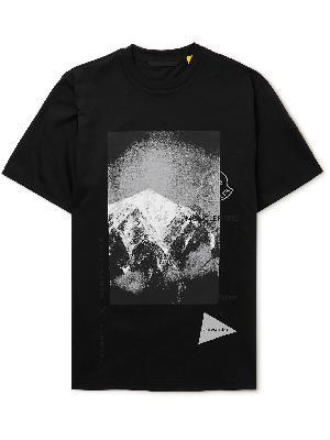 Moncler Genius - And Wander 2 Moncler 1952 Printed Cotton-Jersey T-Shirt
