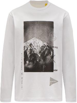 Moncler Genius - 2 Moncler 1952 And Wander Printed Cotton-Jersey T-Shirt