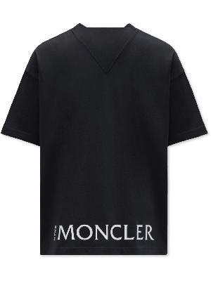 Moncler Genius - 4 Moncler HYKE Logo-Appliquéd Cotton-Jersey T-Shirt