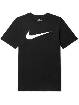 Nike - Logo-Print Cotton-Blend Jersey T-Shirt