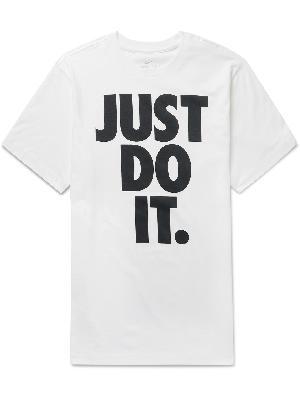 Nike - Logo-Print Cotton-Jersey T-Shirt