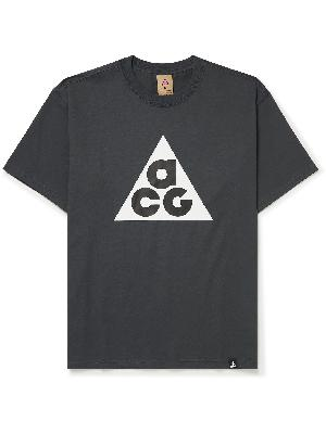 Nike - ACG Logo-Print Cotton-Jersey T-Shirt