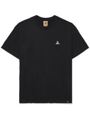 Nike - ACG NRG Logo-Embroidered Jersey T-Shirt