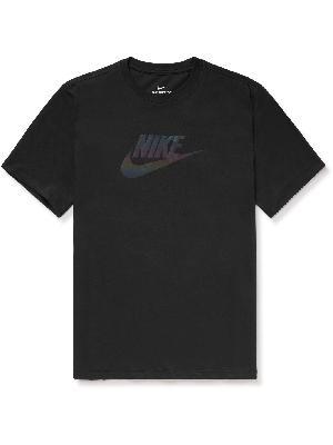 Nike - Sportswear Festival Futura Logo-Print Cotton-Jersey T-Shirt