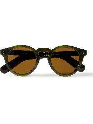 OLIVER PEOPLES - Martineaux Round-Frame Tortoiseshell Acetate Sunglasses