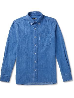 TOM FORD - Slim-Fit Button-Down Collar Cotton-Corduroy Shirt