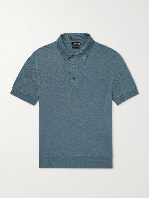 TOM FORD - Cashmere and Silk-Blend Polo Shirt
