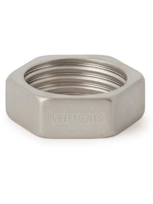 Vetements - Silver-Tone Ring
