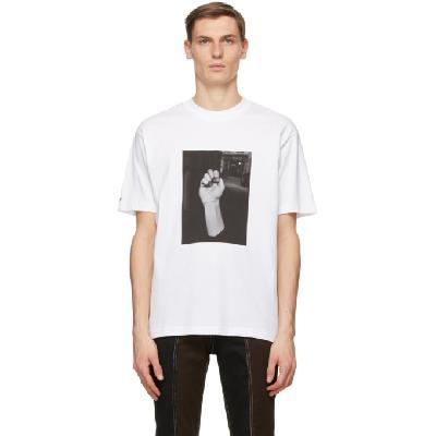 032c White Die Todliche Doris Edition Fist T-Shirt