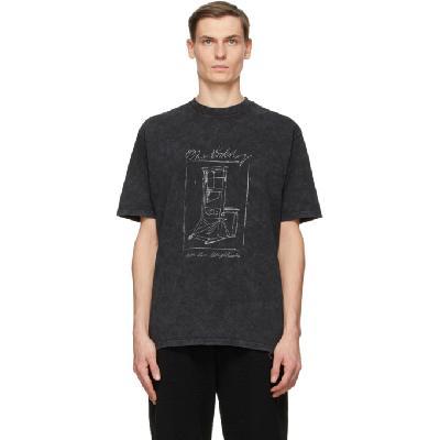 032c Grey Die Todliche Doris Edition Guillotine T-Shirt