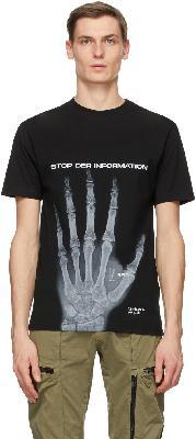 032c Black Die Tödliche Doris Edition'Stopp!' T-Shirt