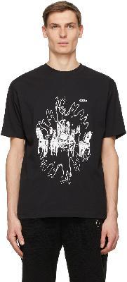 032c Black Die Tödliche Doris Edition Amoeba T-Shirt