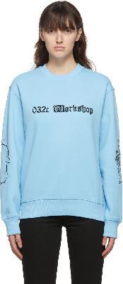 032c Blue Die Tödliche Doris Edition 'Geniale Dilletanten' Sweatshirt