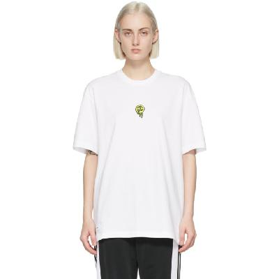 032c White adidas Originals Edition Logo T-Shirt