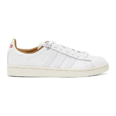 032c White adidas Originals Edition Campus Prince Albert Sneakers