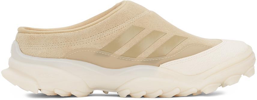 032c Beige adidas Edition Suede GSG Mule Sneakers