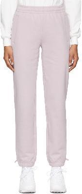 032c Purple Reflective Logo Lounge Pants
