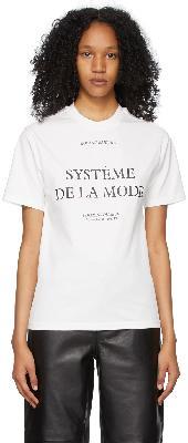 032c White 'Barthes' T-Shirt