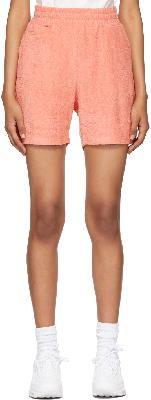 032c Pink Terrycloth Topos Shorts