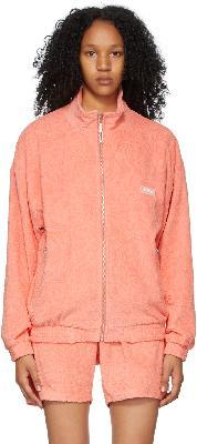 032c Pink Terrycloth Topos Sweater